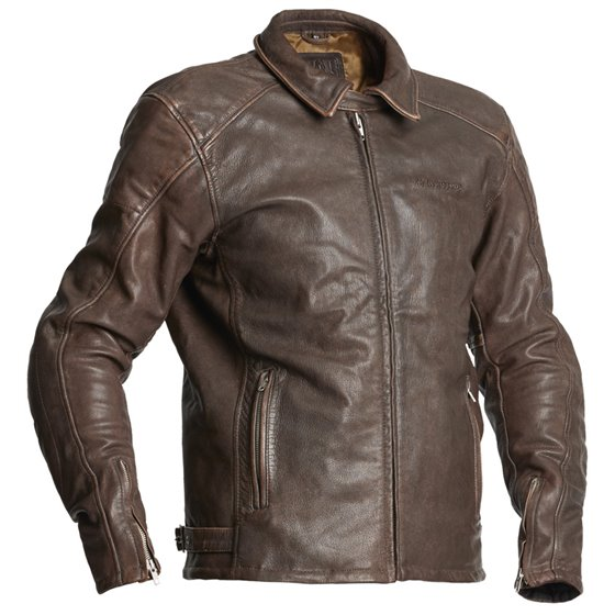 Halvarssons Leather jacket Trenton Brown 58