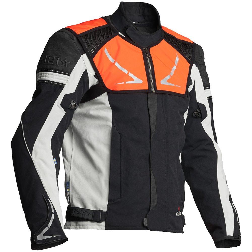 Halvarssons Textile jacket Walkyr Black/white 50