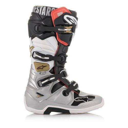Alpinestars Boot Tech 7 Blk/Silver/Wht/Gold 39