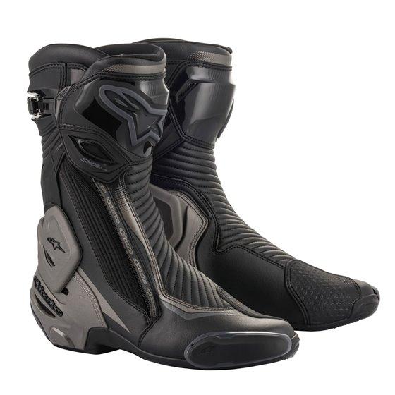 Alpinestars Boot SMX Plus v2 Black/Gray/Yellow 40
