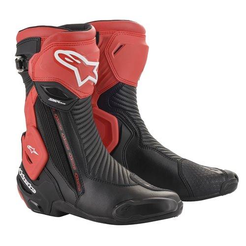 Alpinestars Boots SMX Plus v2 Black/Red 45