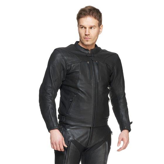 Sweep Leatherjacket Taurus 2 WP, black M