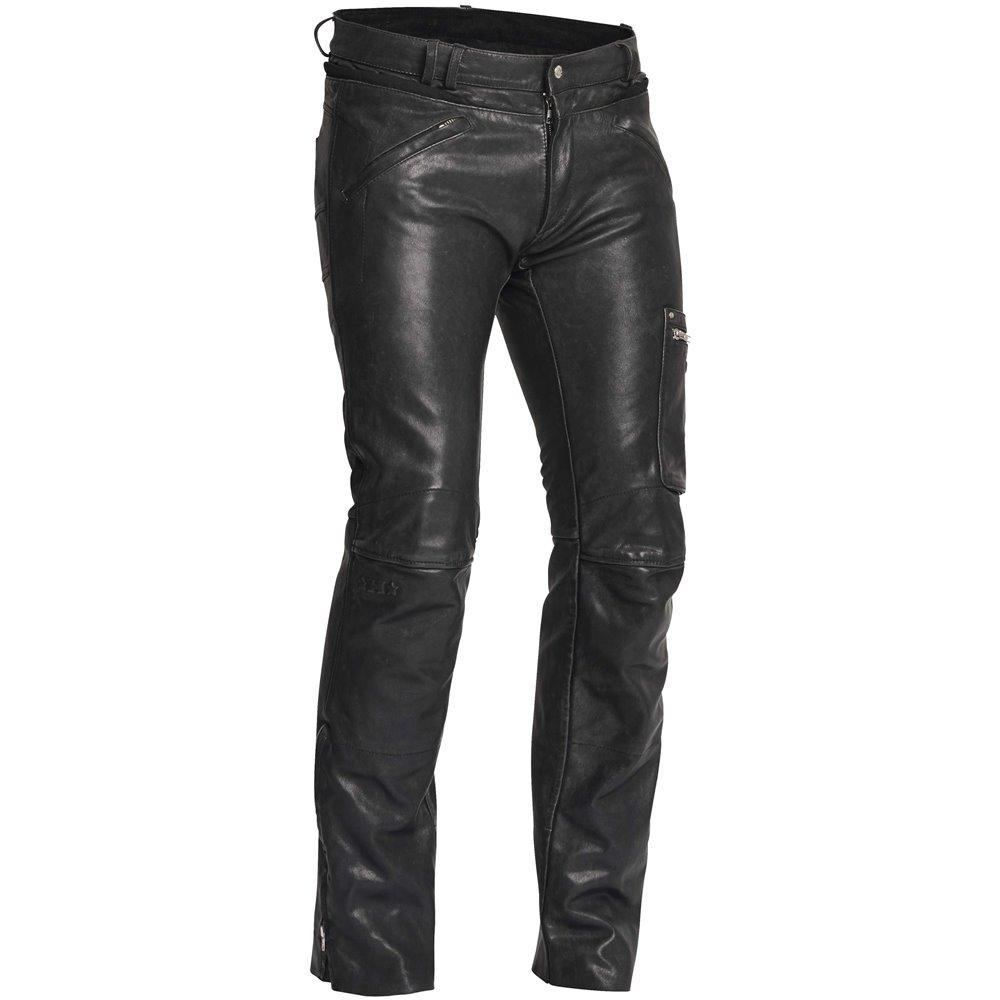 Halvarssons Leather pants Rider Black 58