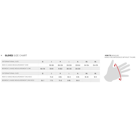 Alpinestars Glove Supertech 2 black/white/red S