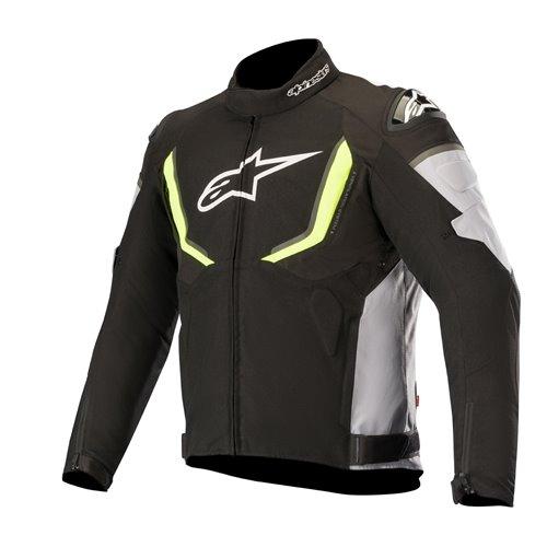 Alpinestars Jacket T-GP R v2 Drystar Black/Gray/Fluoyellow 2XL