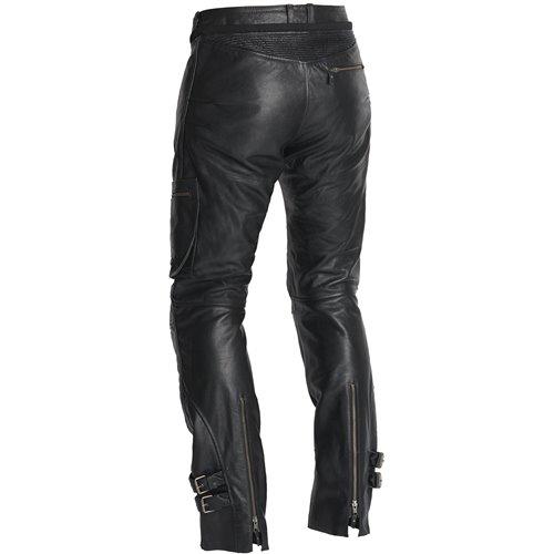 Halvarssons Leather pants Leon Black 58