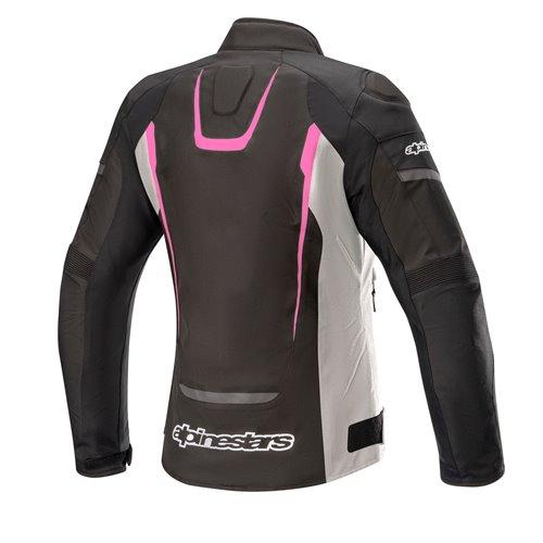 Alpinestars Jacket Woman T-Jaws v3 Waterproof Black/Pink 2XL