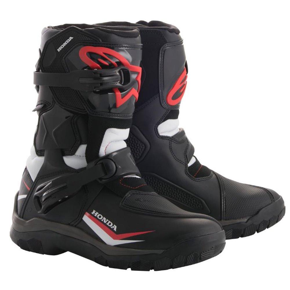 *Alpinestars Honda Boot Belize drystar Black/White/Red 42