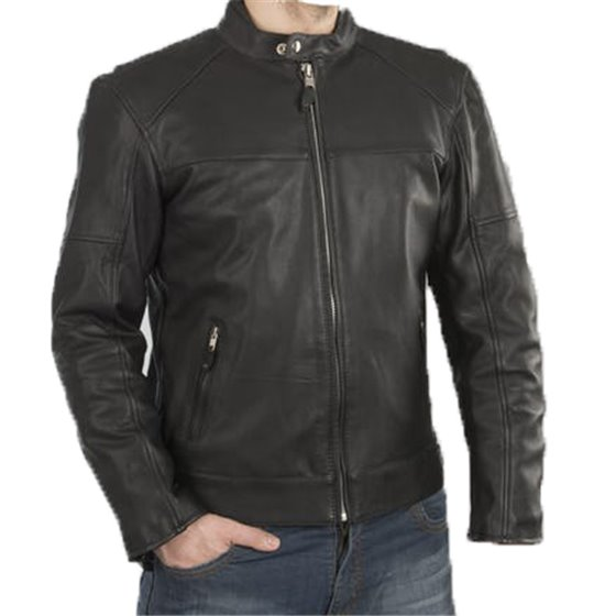 Sweep Leatherjacket Avenger 2, black L