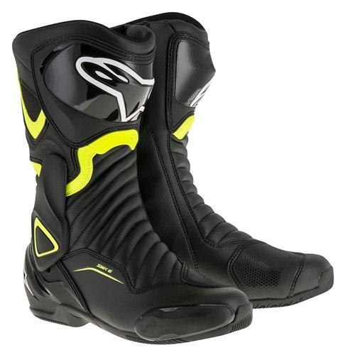Alpinestars Boot SMX-6 v2 black/fluo yellow 40