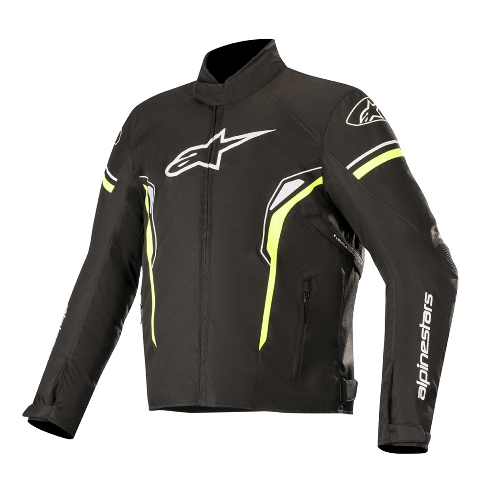 Alpinestars Jacket T-SP-1 Waterproof Black/Fluoyellow S