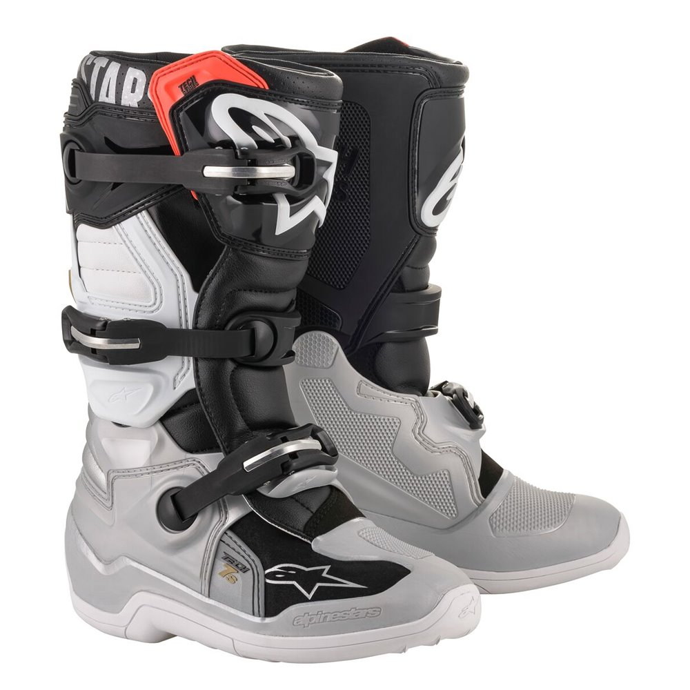 Alpinestars Boot Tech 7s junior Blk/Sil/Wht/Gold 40,5 (7)