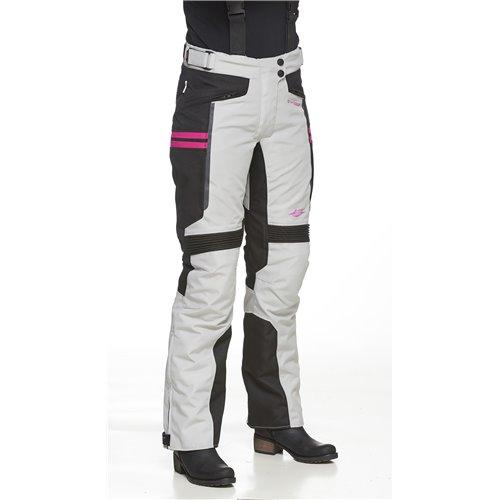 Sweep Textil pants Janet Waterproof, Lightgray/Pink 36
