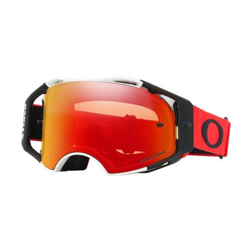 Oakley Goggles Airbrake MX Red White w/PrizmTorch