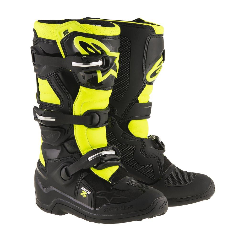 Alpinestars Boot Tech 7s Junior  Black/Fluo 38 (5)