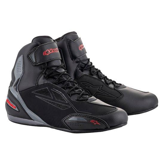 Alpinestars Shoe Faster-3 Drystar Black/Gray/Red 43
