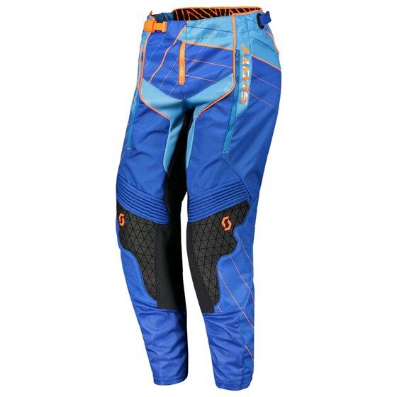 Scott Pant Enduro blue/orange 38