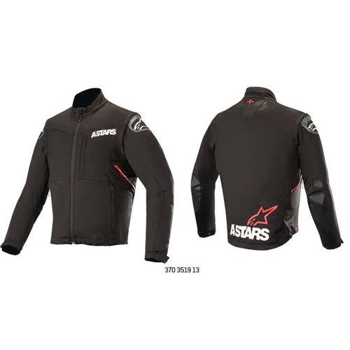 *Alpinestars jacket Session Race, black/red S