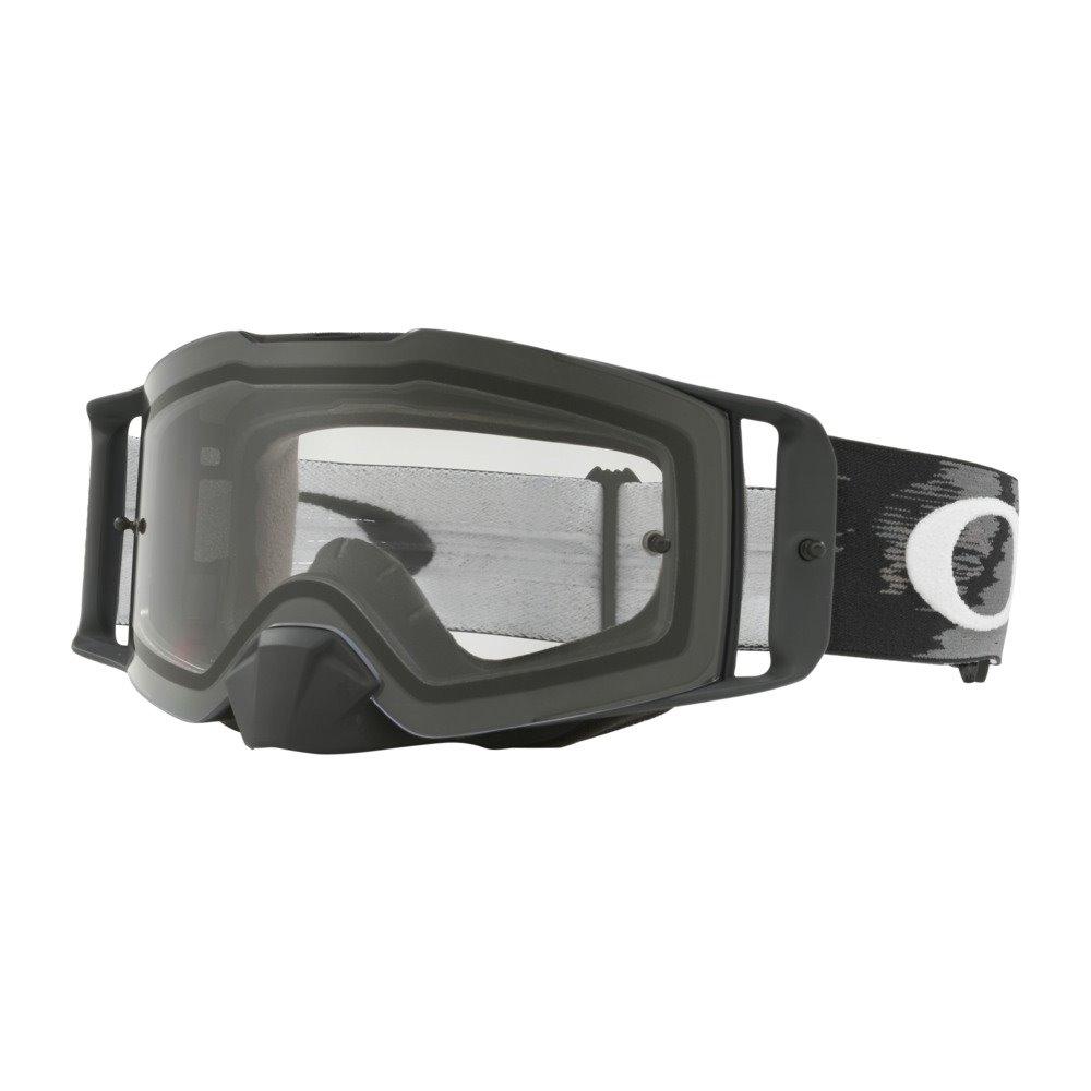 Oakley Goggles Front Line MX matte black speed w/clear