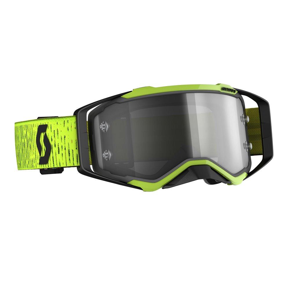 Scott Goggle MX Prospect LS black/yellow light sensitive grey works