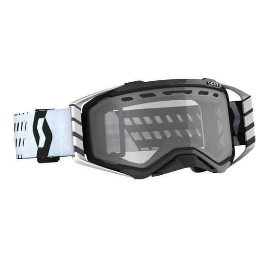 Scott Goggle MX Prospect Enduro black/white clear