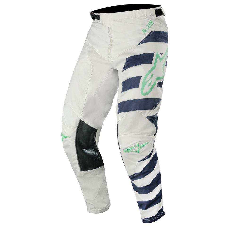 Alpinestars pants Racer Braap, grey/dark navy/teal 34