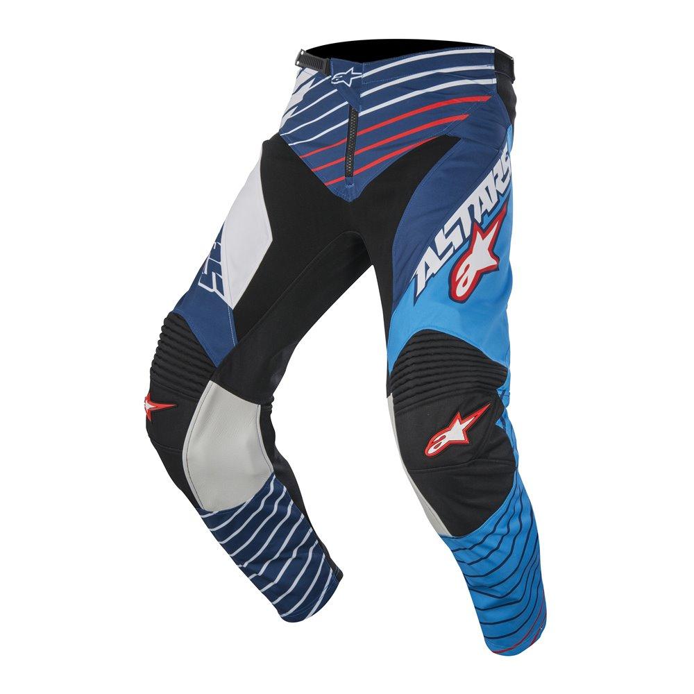 Alpinestars pants Racer BRAAP white/blue 30