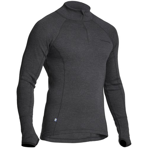 Halvarssons Sweater Polo Wool Grafithe XL