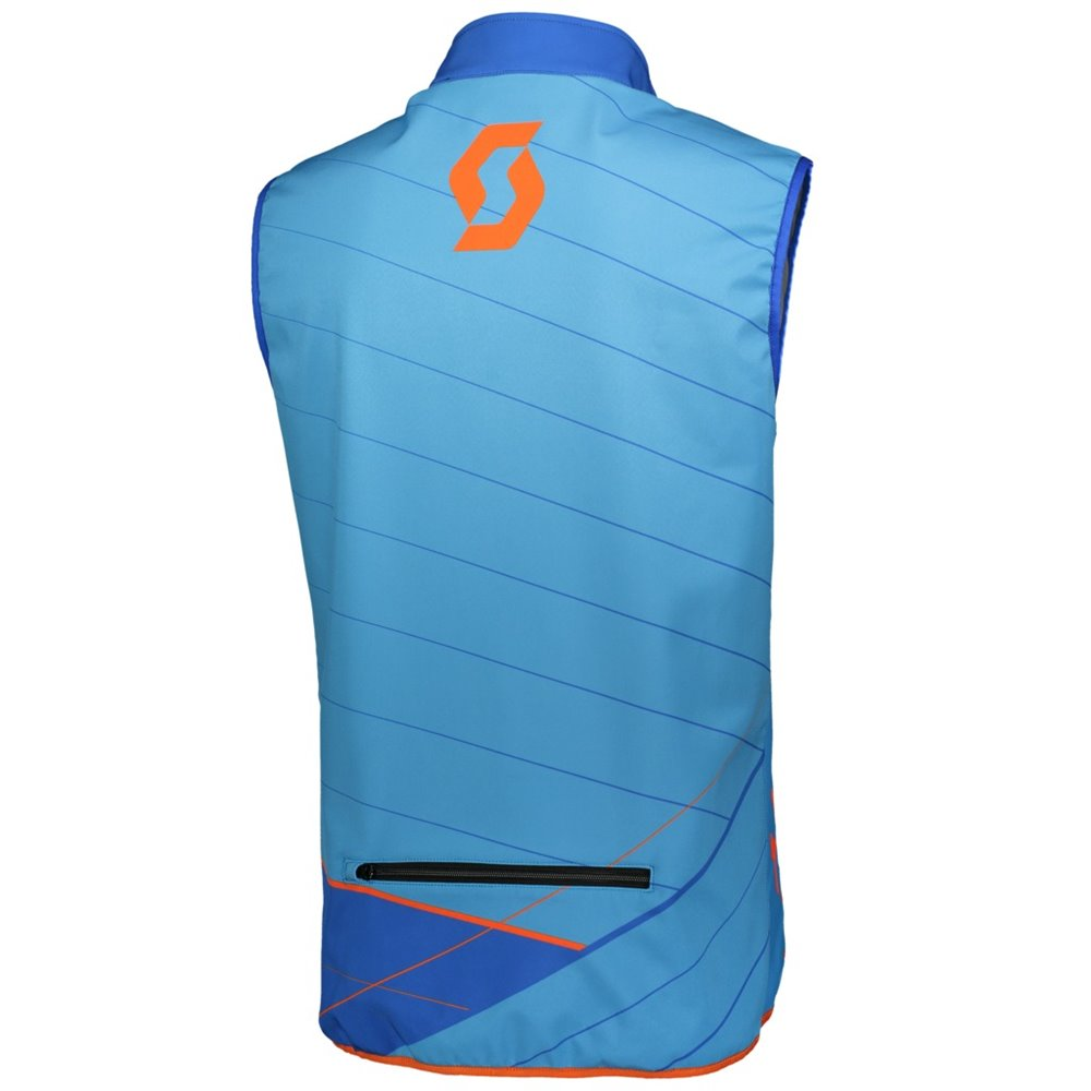 Scott Vest Enduro blue/orange 2XL