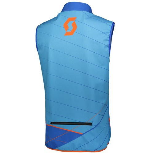 Scott Vest Enduro blue/orange XL