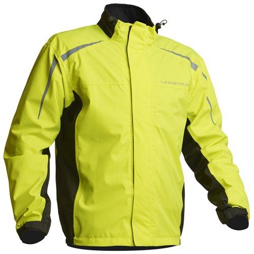 Lindstrands Rain jacket DW+ Jacket Black/yellow XL