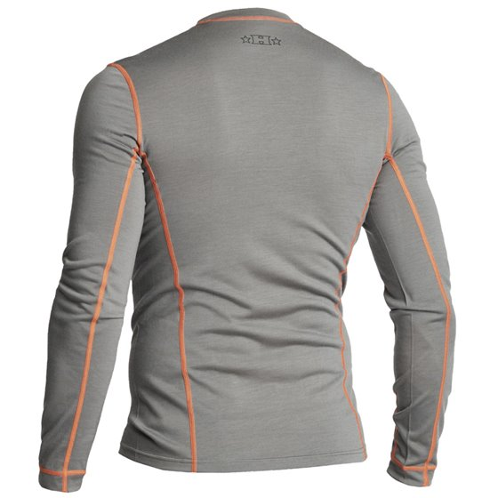 Halvarssons Light Wool Sweater Grey XL