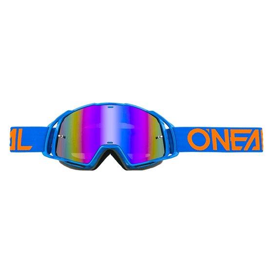ONeal B-20 glasögon Flat Blå/Orange, Radium blå