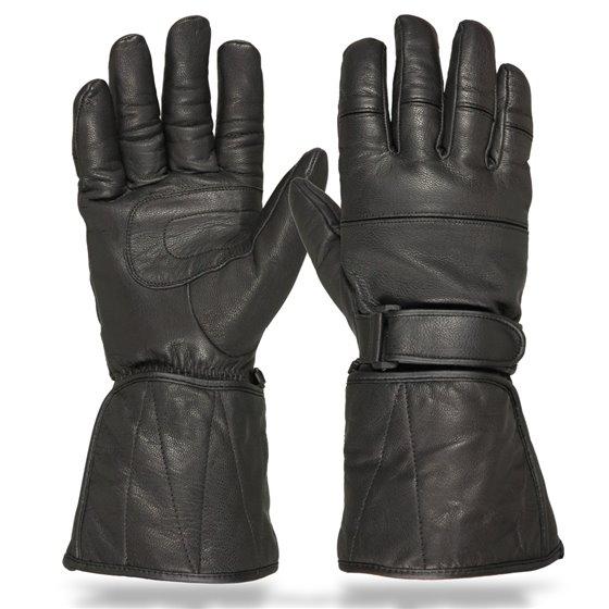 Sweep Leatherglove Magister, black XS