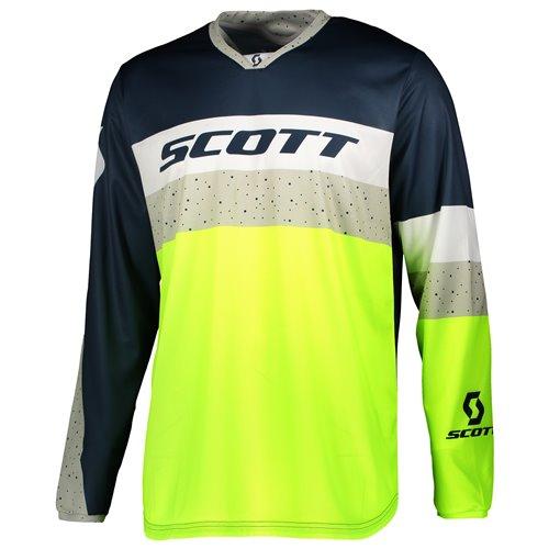Scott Jersey 350 Track blue/yellow L