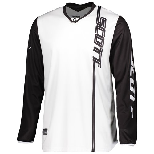 SCOTT Jersey 350 Swap black/white XL