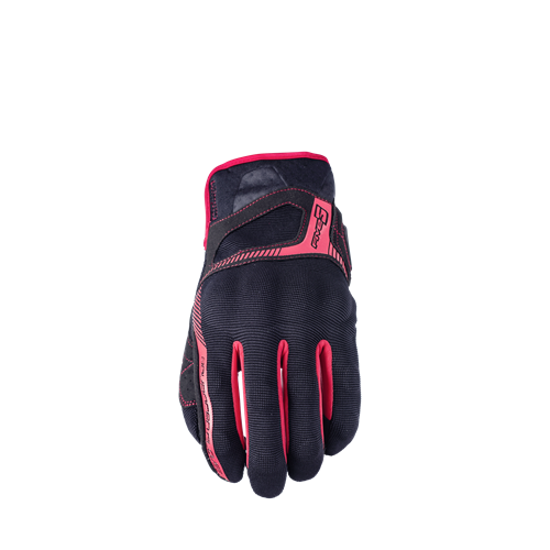 Five Glove RS3, black/red S