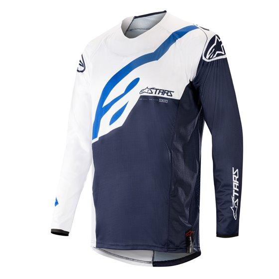Alpinestars jersey Techstar, white/dark navy 2XL