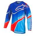Alpinestars Jersey Techstar Venom, Blue/Cyan/Red M