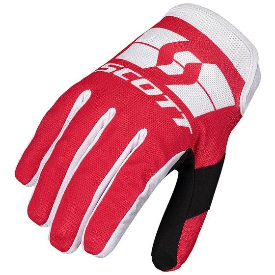 SCOTT Glove 250 Swap red/white XL
