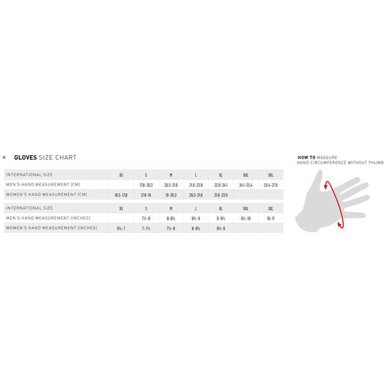 Alpinestars Glove Radar Flight Fluo Oran/White/Blue -2XL