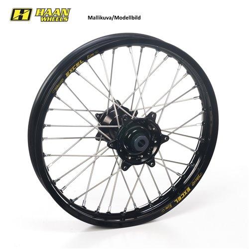 * Haan wheel KTM EXC & EXC-F 18-2.50 BLACK HUB/BLACK RIM w. cush