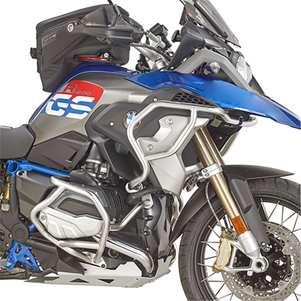 Givi Specific engine guard, stainless steel BMW R1200GS/R1250GS