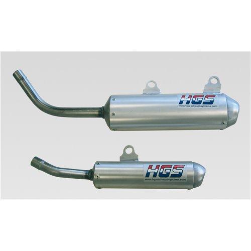HGS Silencer 2T Racing HVA125 00-08