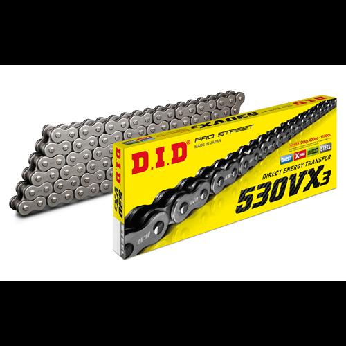 D.I.D 530VX3 Chain+Connecting link rivet type (ZJ)