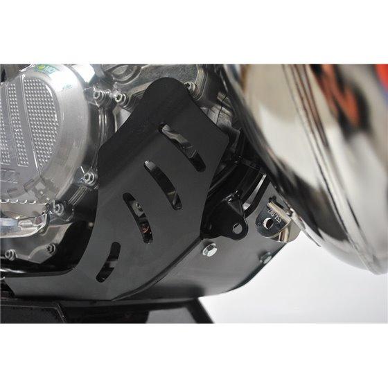 AXP Skid Plate Black Ktm EXC 250-300/Husqvarna TE250-300 17-20