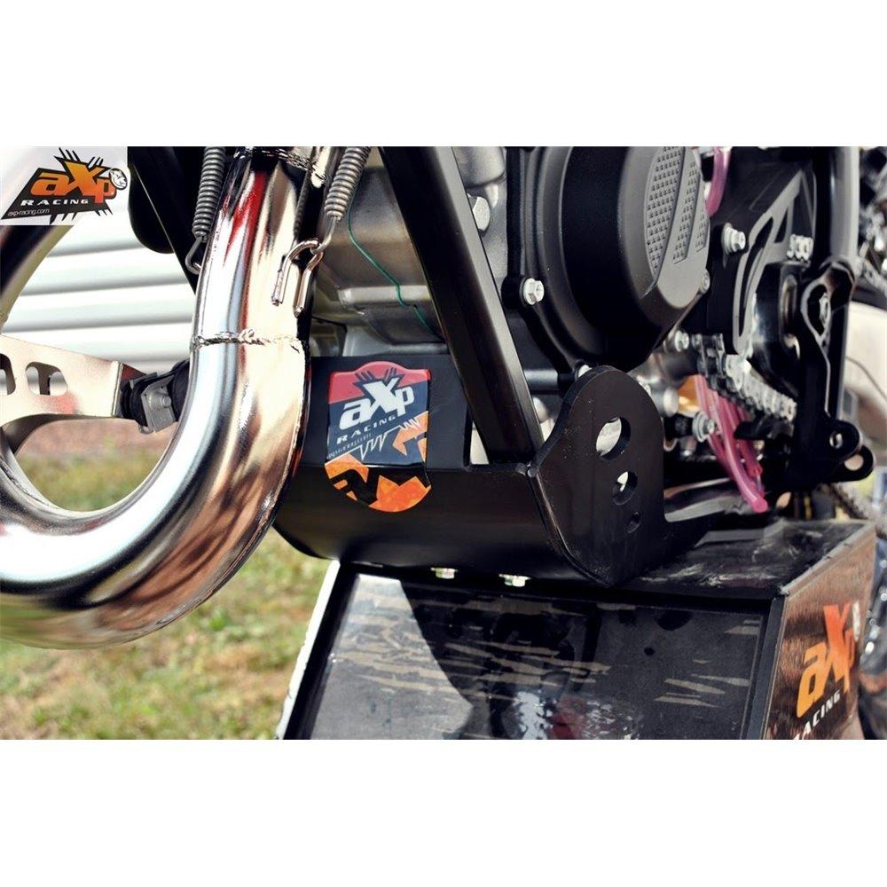 AXP Skid Plate Black Ktm SX125 16-20