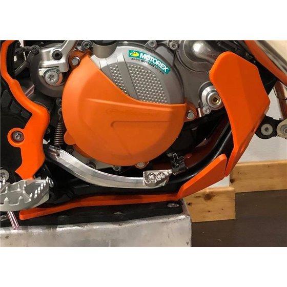 AXP Skid Plate Orange Ktm SX125-SX150-XCW125 17-