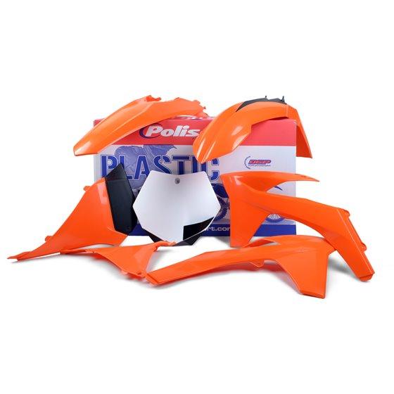 Polisport plastic kit for KTM EXC/EXC-F OEM Color 12-13