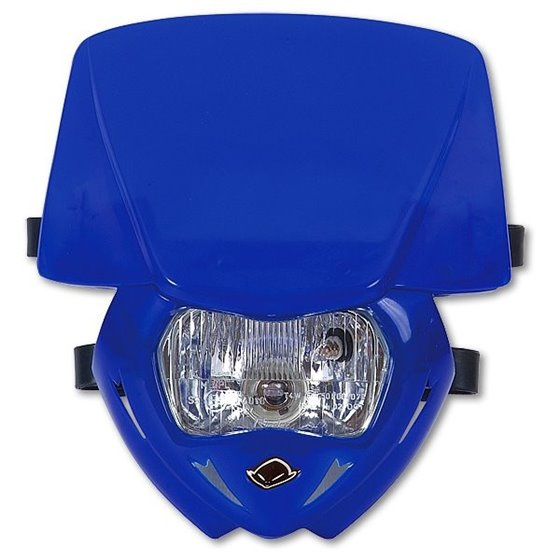 UFO Headlight Panther Blue 089 approved